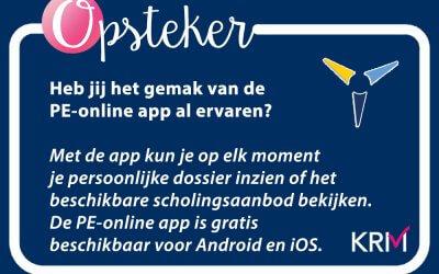 De PE-online app